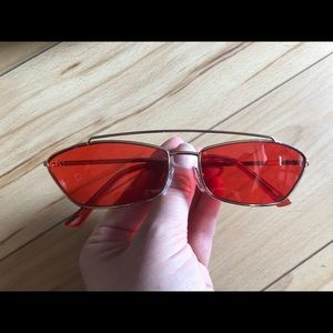 Trendy red shades